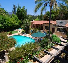 Jack and I are going for a weekend away in Ojai, and staying at the Blue Iguana Inn