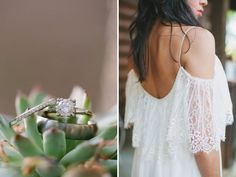 Bohemian Forest Wedding: Marisa + Jason | Green Wedding Shoes Wedding Blog | Wedding Trends for Stylish + Creative Brides