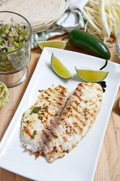 Cilantro and Lime FishTacos