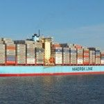 Skagen Maersk auf dem Weg zum JadeWeserPort