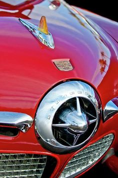 '50 Studebaker Champion Hood Ornament | Photo by Jill Reger