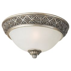 View the Sea Gull Lighting 75250 Highlands 2 Light Flush Mount Ceiling Fixture. For the hallway and office