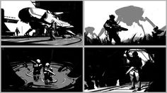 ArtStation - Composition Sketches, Sung Choi