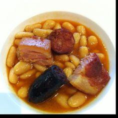 Fabada. Gastronomía asturiana. Spanish food. #asturias