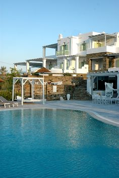 The Anthia Hotel & Spa on the southern part of Tinos island in Greece