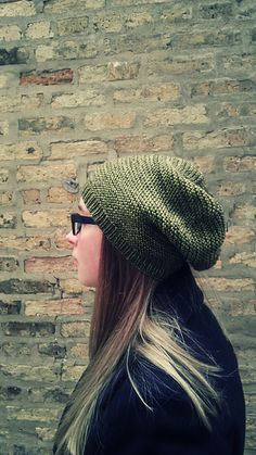 BreeanElyse - beautifully simple knitting - Blog - Oops, I did it again. The Grasshopper - another slouchy hat pattern!