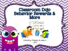 This Pack includes all the makings for an awesome interactive behavior bulletin board or tri-fold to display rewards. Do you use Class Dojo? Positive Behavior Management, Classroom Behavior Management, Class Management, Special Education Behavior, Behavior Rewards, Classe Dojo, Pbis School, First Day Of School Activities, 2nd Grade Classroom