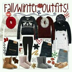 Winter and fall outfits