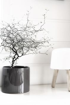 natural, milk lamp by And Tradition, Styling en Interieur - Interior, photography  by Binti Home