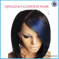 New Bob Wigs!!! Highlight Unprocessed Brazilian virgin Hair lace front human hair wig/full lace wig free shipping aliexpress uk