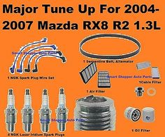 For Jaguar X-Type 2.5L 3.0L 04-07 Premium Spark Plugs+Cabin /& Air Filters KIT