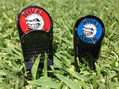 The red divot tool is here but the blue one is to be released very soon.