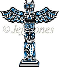 tlingit totem poles coloring pages - photo#41