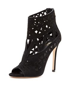 Levens Laser-Cut Sandal from B Brian Atwood on Gilt