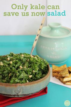 Eat Like You Give a Damn review + kale salad recipe   cadryskitchen.com