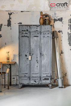 Casiers industriels, décoration industrielle, mobilier industriel