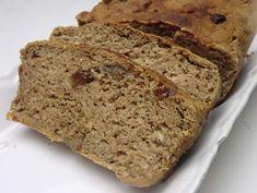 Ma petite cuisine gourmande sans gluten ni lactose: Pain à la farine de châtaigne et aux raisins secs