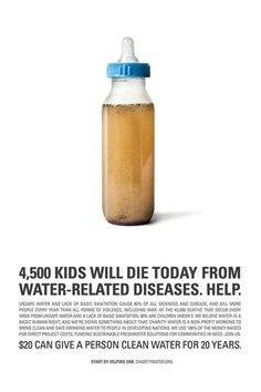 Charity Water- awesome organization and a super important cause!