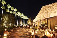 Outdoor Lighting for Special Event