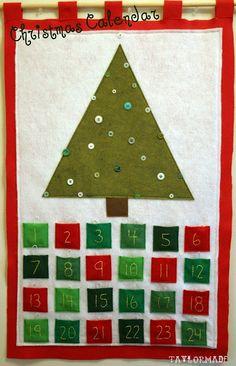 Christmas Calendar - Taylor Made