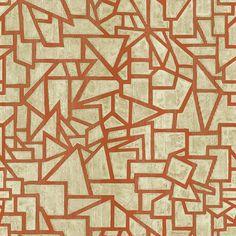 "Urban Chic Pablo 33' x 20.5"" Geometric Roll Wallpaper"