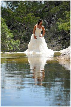 Trash the dress- i SO wanna do this!