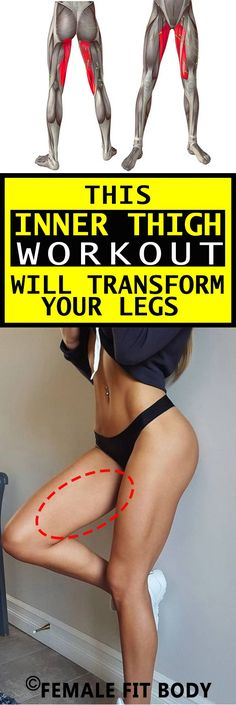These exercises will sculpt and tone your thighs.