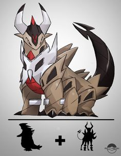 Fusion Nightmare Fuel by rey-menn on DeviantArt - Poke Ball Pokemon Rpg, Mega Pokemon, Pokemon Pins, Pokemon Memes, Pokemon Cards, Pokemon Fake, Pokemon Fusion Art, Pokemon Fan Art, Tyranitar Pokemon
