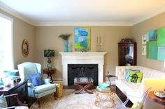 Shannon Weis Home Tour - Living Room