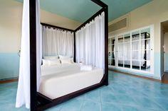La Cama Balinesa es apta tanto para interiores como para exteriores.