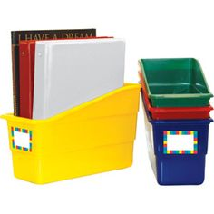 Durable Magazine Book and Binder Holders From reallygoodstuff.com
