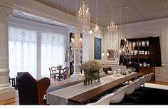 lustres para sala Moderno lustres em casas