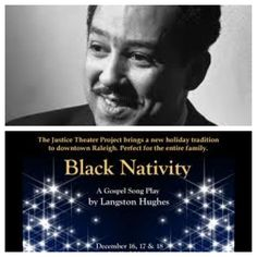 Langston Hughes' Musical BLACK NATIVITY opened on Broadway on this day in 1961