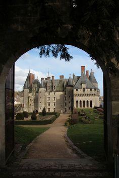 Château de Langeais, Indre-et-Loire, France.