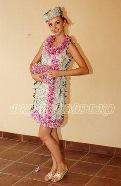 Цветочные платья, платья из живых цветов - PremiumDeko