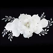 (1 Pc)Sweet White Imitation Pearl Hair Combs ... – USD $ 16.29