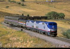 RailPictures.Net Photo: AMTK 133 Amtrak GE P42DC at Rocky, Colorado by Mike Danneman