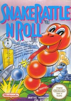 Nes Snake Rattle and Roll love this game