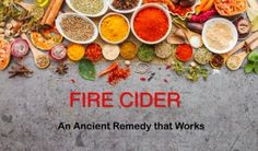 Fire cider recipes, variations and uses - ire cider is a medicinal concoction that has been used for many generations to support healthy digestion, keep away seasonal infections, boost circulation and get rid of sinus congestion. It is essentially a collection of health-boosting herbs and vegetables, which are mixed together and soaked in vinegar over a period of time. The vinegar acts to draw out the active medicinal constituents of the plants.