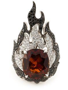 GARRARD  'Fire Of London' ring