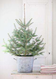 Un petit sapin de Noël d'inspiration scandinave, décoration de noel, christmas decoration