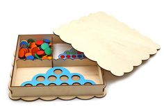 "Jigsaw Educational /""Smart touch/"" Nikitin method Wood"