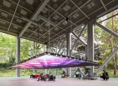 LED Screen Installation in Cartier Foundation