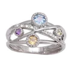 "This would be a cool ""family ring"" maybe with all of our birthstones????"