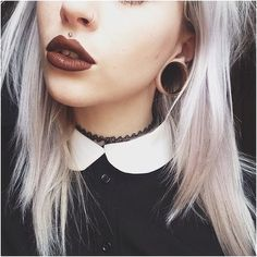 This size is more what im feeling. And that medusa piercing ! Yaaas ! :) @braxtinlaine