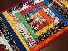 Sally Annie Magundy: Thank you Lori & Day of the Dead Crafts table runner