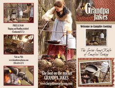 The Grandpa Jake's Campfire Cooker