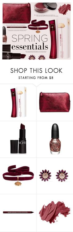 """""""In Bloom: Spring Perfume"""" by katarina-blagojevic ❤ liked on Polyvore featuring beauty, Forever 21, Youngblood, Diego Percossi Papi, Miu Miu, Charlotte Russe and Bobbi Brown Cosmetics"""
