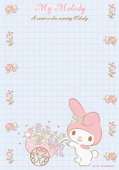 Sanrio My Melody Memo (2015) | crazysugarbunny | Flickr