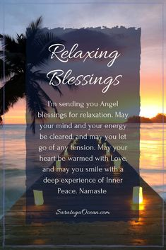 Here's a relaxing blessing for you to clear your energy, quiet your mind, and relax your spirit. Positive Quotes For Women, Strong Quotes, Faith Quotes, Life Quotes, Positive Thoughts, Qoutes, Peace Quotes, Positive Vibes, Morning Affirmations